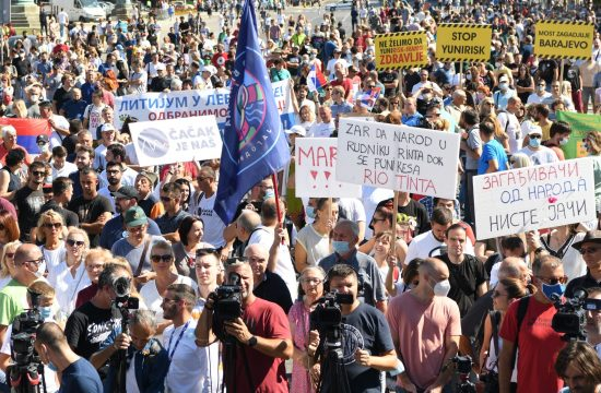 Ekoloski protest Ustanak za opstanak