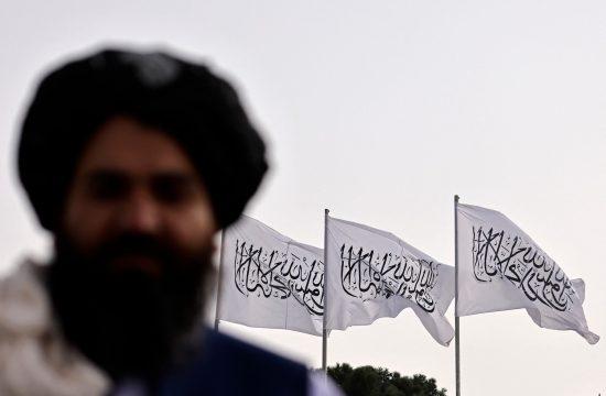 Talibani zastava Kabul Avganistan