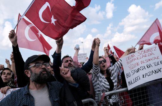 Turska, Istanbul, protest, koronavirus, kovid