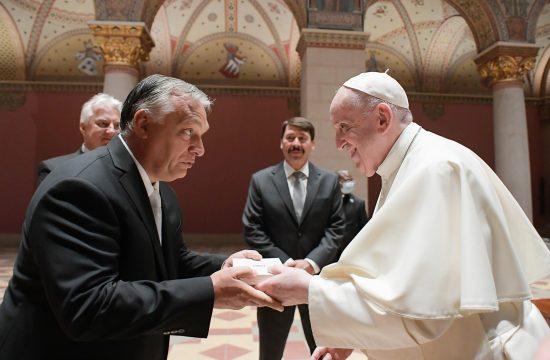 Viktor Orban i papa Franja