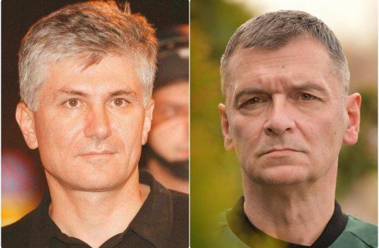 Zoran Djindjic i Aleksandar Jovanovic Cuta