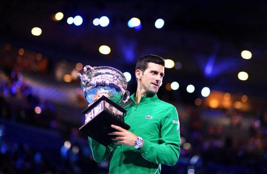 Novak Đoković Australian Open 2020. Novak Djoković