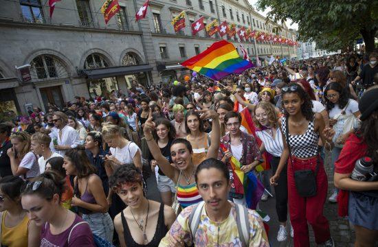 Ženeva, gej parada, parada ponosa