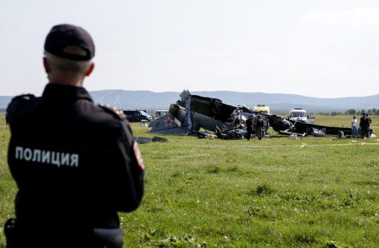 Rusija, avion, nesreća