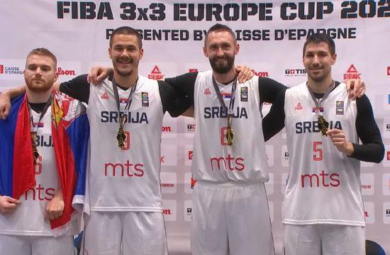 Basketaši Srbije prvaci Evrope