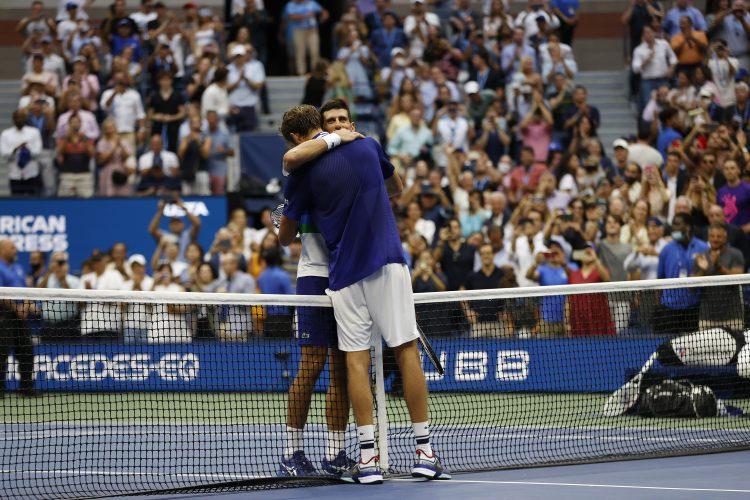 Novak Đoković Novak Djoković Danil Medvedev