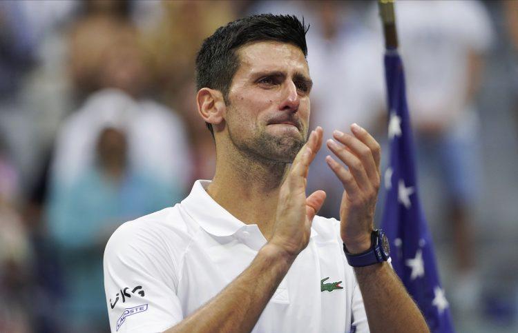Novak Đoković Novak Djoković suze plakanje