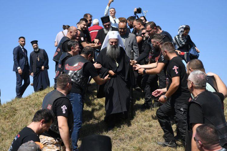 Patrijarh srpski gospodin Porfirije Obelezavanje Dana novomucenika jasenovackih u Jasenovcu