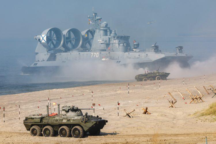 Vladimir Putin, vojna vežba, Zapad 2021