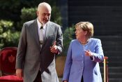 Edi Rama i Angela Merkel