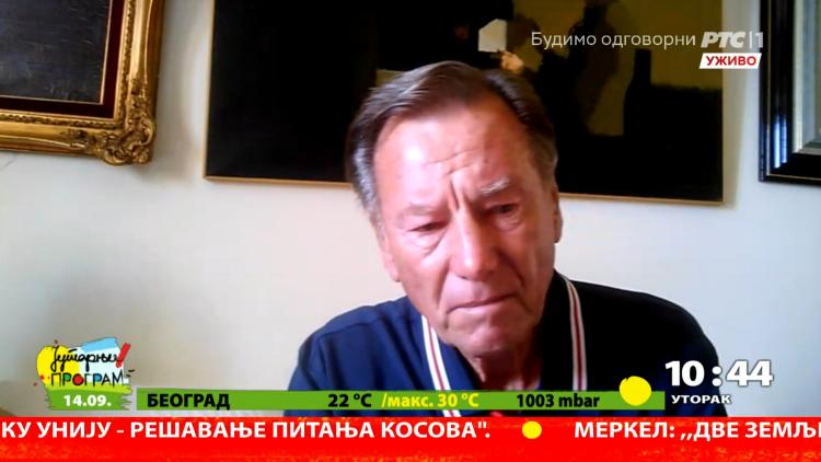 Nikola Pilić plače