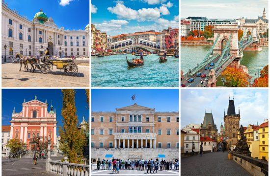 Jesenja putovanja, jesenje putovanje, Beč, Venecija, Budimpešta, Ljubljana, Atina, Prag