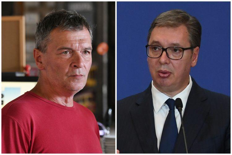 Aleksandar Jovanović Ćuta i Aleksandar Vučić