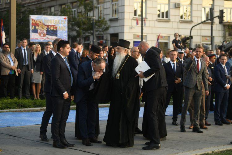 Irinej Bulović Dan srpskog jedinstva, slobode i nacionalne zastave