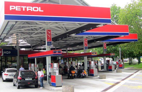 Slovenija, Ljubljana, benzinska stanica, pumpa