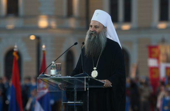 Patrijarh srpski Porfirije Dan srpskog jedinstva, slobode i nacionalne zastave