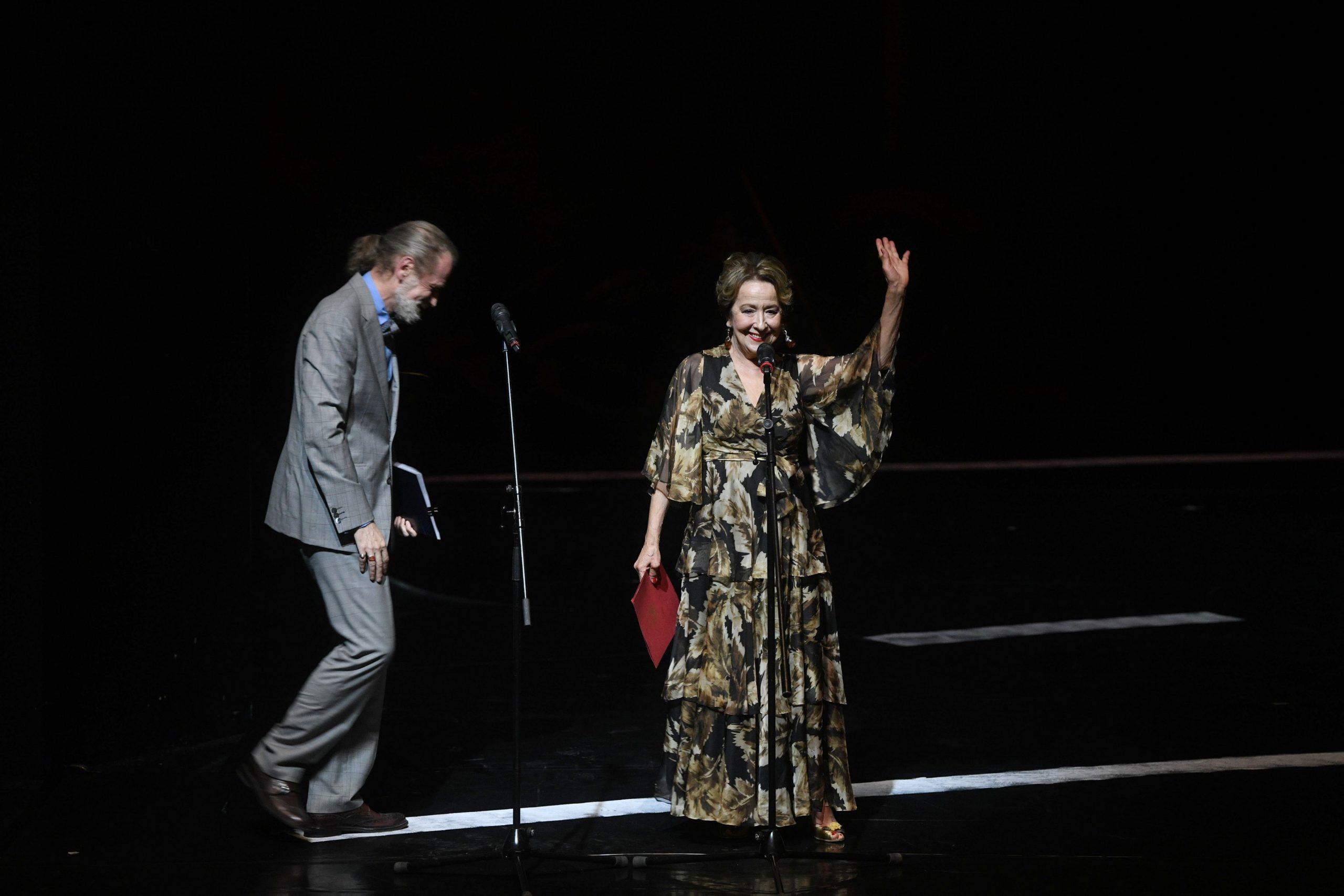 Svetlana Ceca Bojković Otvaranje Bitefa u Jugoslovenskom dramskom pozorištu, JDP, Jugoslovensko dramsko pozorište