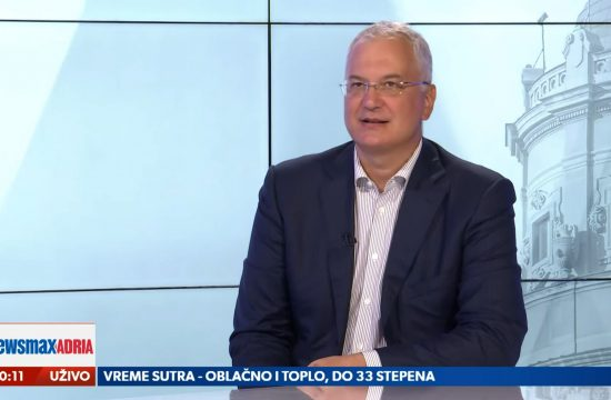 Dragan Šutanovac, gost, emisija Pregled dana Newsmax Adria