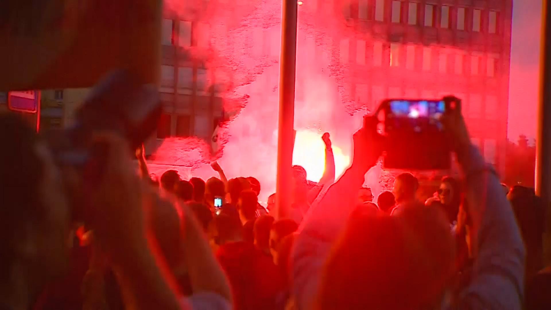 protesti Ljubljana