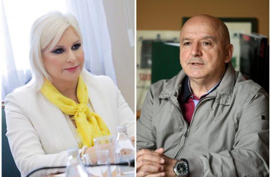 Zorana Mihajlović i Ratko Ristić