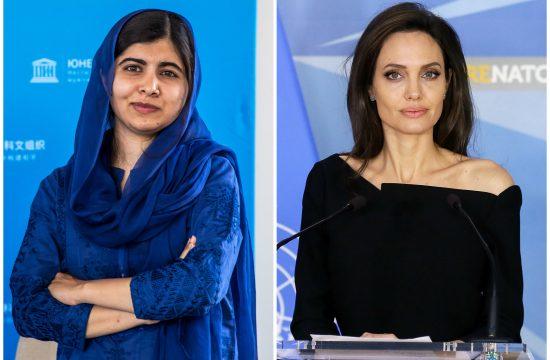 Malala Jusufzai, Malala Yousafzai i Anđelina Džoli, Angelina Jolie