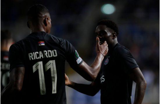 FK Partizan, Rikardo Gomeš, Kvinsi Menig