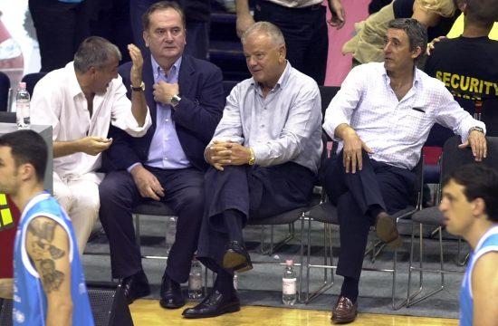 Željko Obradović, Duda Ivković, Božidar Maljković i Svetislav Pešić
