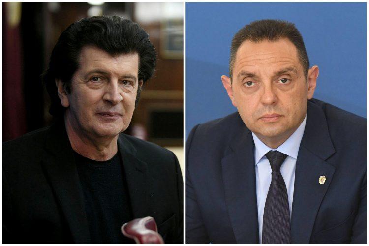 Momčilo Bajagić Bajaga i Aleksandar Vulin