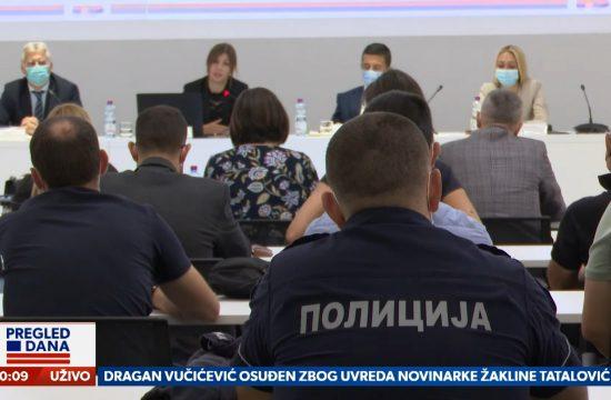 Zakon o policiji, Novi zakon o policiji, prilog, emisija Pregled dana Newsmax Adria