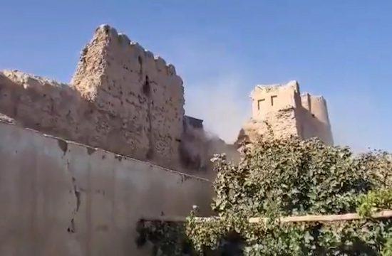 Talibani Ruše Tvrđavu