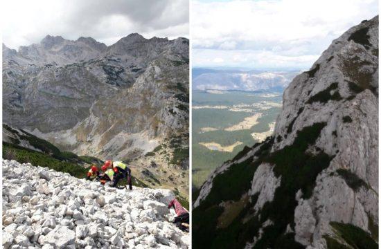 Crna Gora, planina, spasavanje