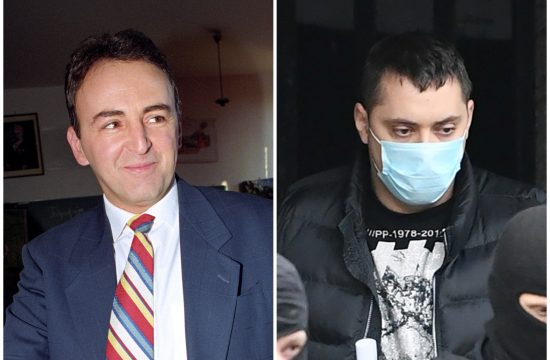 Željko Ražnatović Arkan i Veljko Belivuk