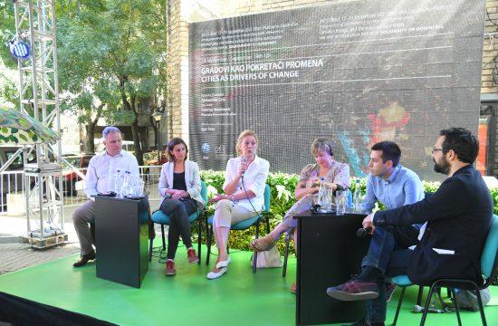 Tribina o ekološkim gradovima, Gradovi kao pokretači promena