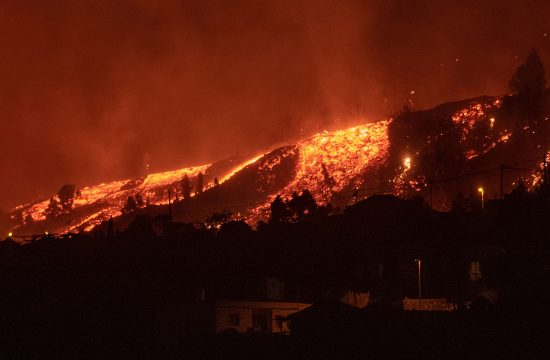 La Palma, Španija, vulkan, erupcija