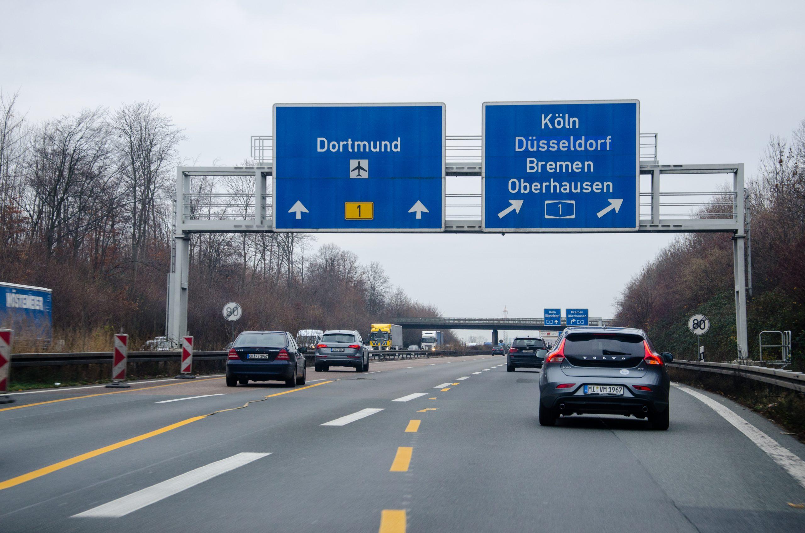 autobahn, ograničenje