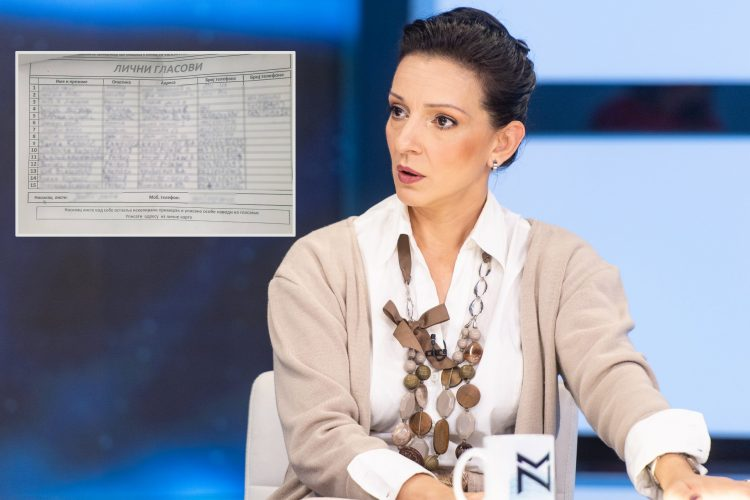 Marinika Tepić, sns, lični glasovi