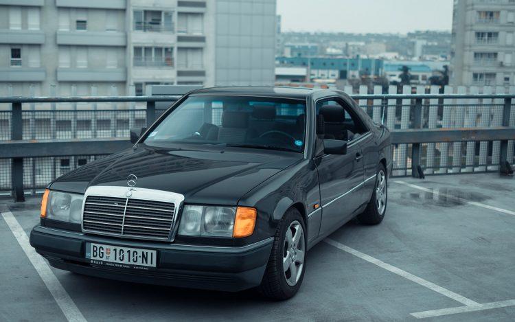 Mercedes, oldtimer, W124, auto, automobil