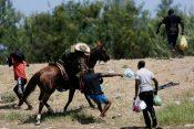 Rio Grande, migranti, policija