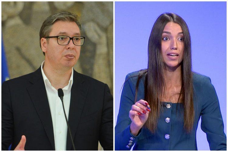 Aleksandar Vučić i Nevena Đurić, Nevena Djurić