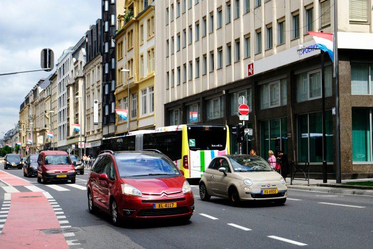 Luksemburg, automobili