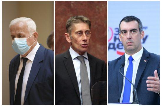 Marko Atlagić, Aleksandar Martinović i Vladimir Orlić