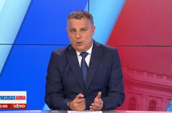Goran Dimitrijević, emisija Pregled dana Newsmax Adria