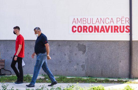Kosovo, koronavirus