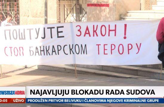 Advokati, advokati i građani, gradjani protiv VKS o sporovima protiv banaka, prilog, emisija Pregled dana Newsmax Adria