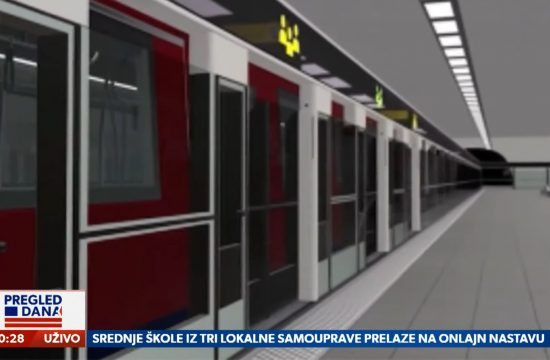 Metro, Linije budućeg metroa rešena stvar, prilog, emisija Pregled dana Newsmax Adria