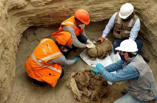 Iskopani ljudski ostaci u Peruu