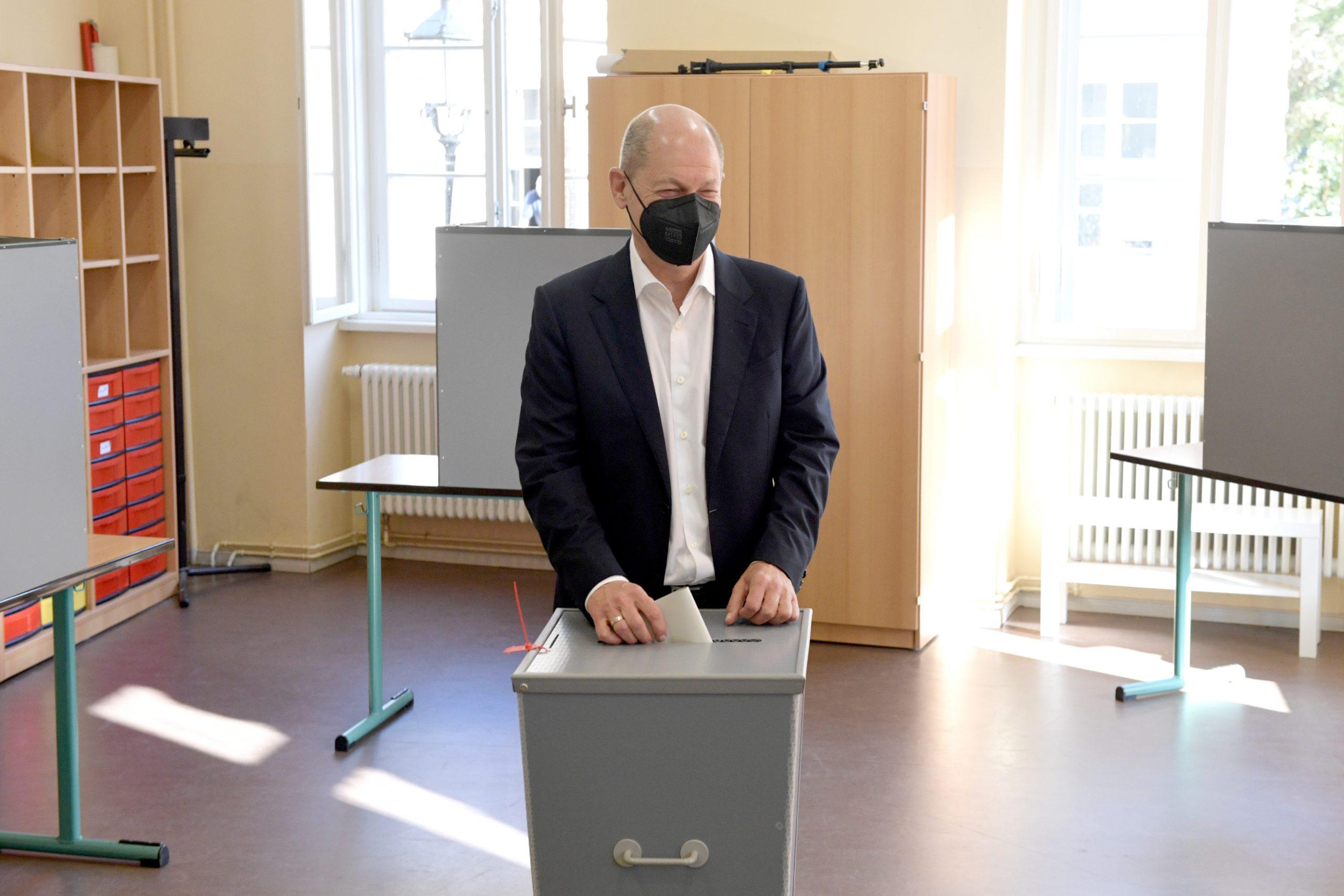 Olaf Šolc Nemačka izbori