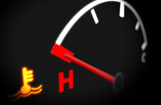 lampica, temperatura motora, auto, automobil