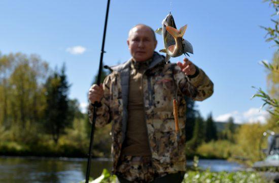 Vladimir Putin odmor Sibir