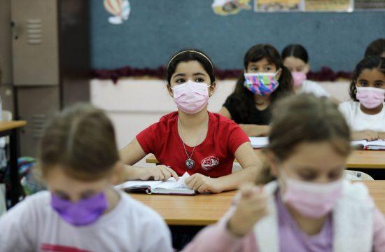 Izrael škole, učenici